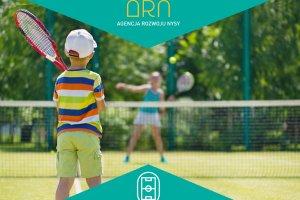 Turniej tenisa ziemnego dla dzieci i młodzieży