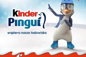 Kinder Pingui wspiera nasze Lodowisko