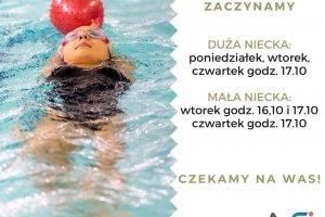 Ponownie rusza nasza szkółka pływacka!