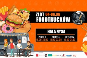 Zlot food trucków w czerwcu